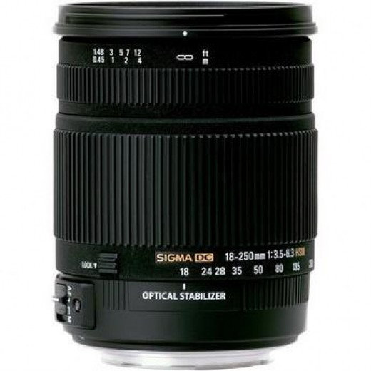 Sigma 18-250mm All Around Lens