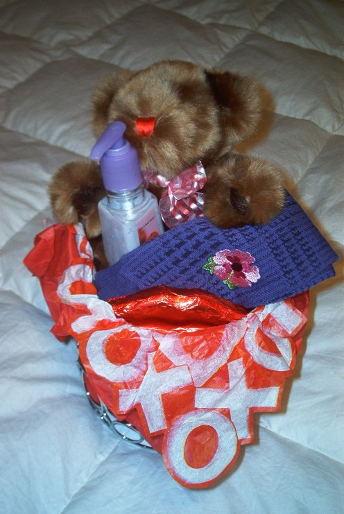 Teddy and Tean Gift Basket