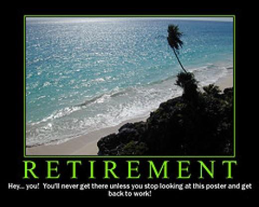 Retirement Motivational Poster