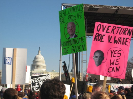 March for Life, 2009 was held just 2 days after President Obama's inauguration.