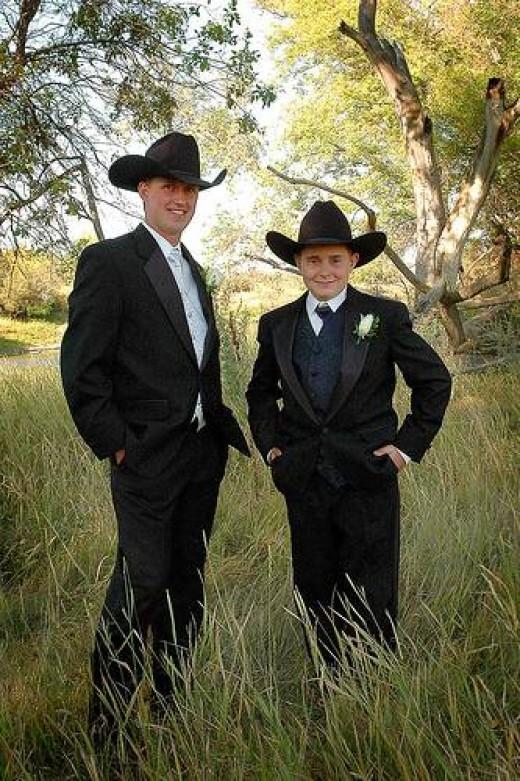 country amp western wedding cowboy wedding attire
