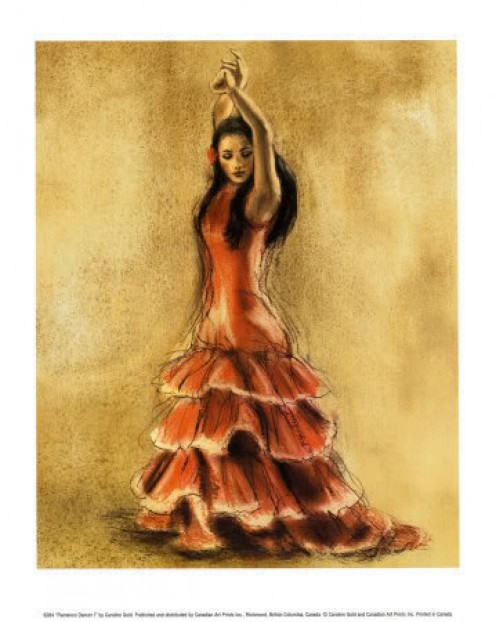 Sensuous flamenco dancer...by floraland on photobucket