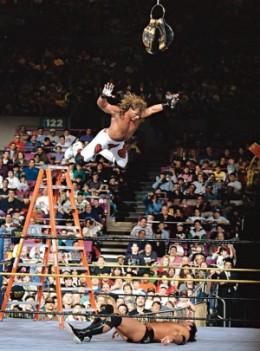 Shawn Michaels vs. Razor Ramon, Ladder Match at WrestleMania X