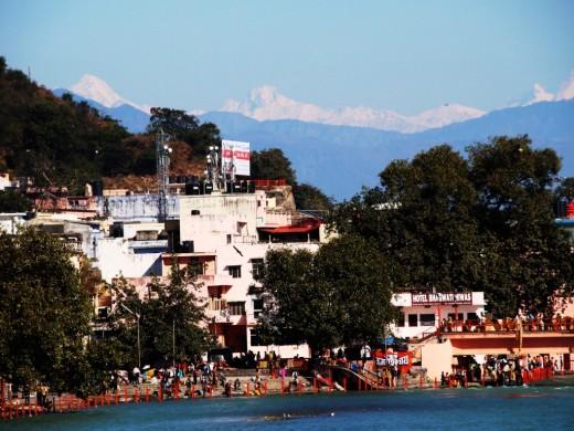Hardwar, the gateway to the Himalayas