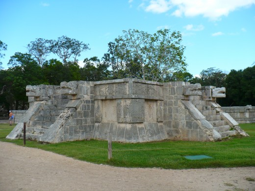 This the Toltec/Mayan Platform of Venues..nice platform, but not what I had in mind!