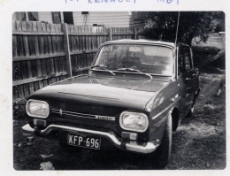 1968 Renault 10.