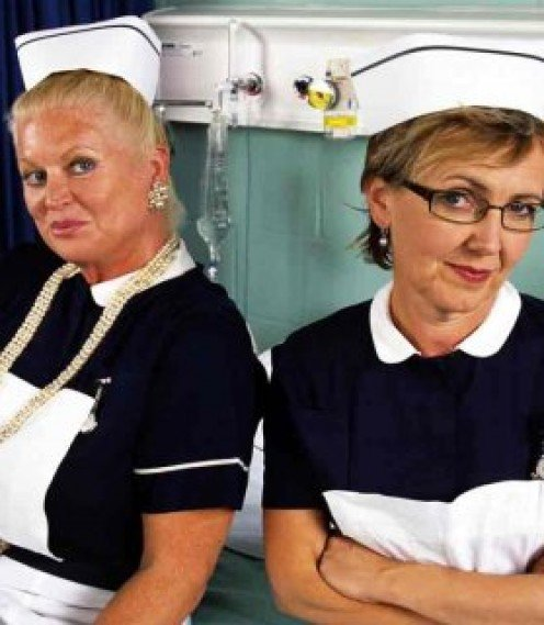With all the germs found in filthy dwelling, Kim and Aggie are not taking any chances.