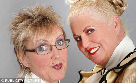 Every one needs a partner in crime or should I say grime. Kim and Aggie make a dynamite team.