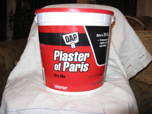 plaster of paris mixing instructions