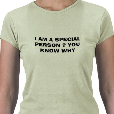 You're Not Really as Special as You Think!