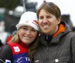Lindsey Vonn With Husband Thomas.  zimbia.com