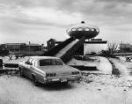 The UFO house might not be to everyone's taste