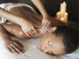 Aromatherapy massage relaxes the body, eases tight, aching muscles and releases toxins to be eliminated from the body.