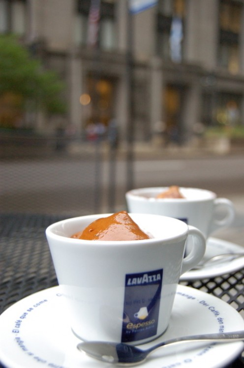 Popular Italian coffee from Lavazza Cafe