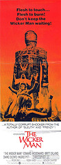 1973 The Wicker Man Movie Poster