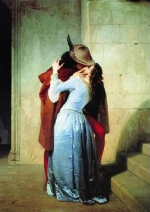 The Kiss, F. Hayez