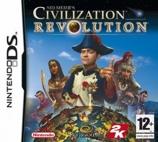 Sid Meier's Civilization Revolution provides the fantastic empire building strategy game in the handheld DS Console format.