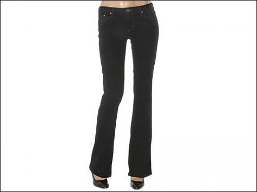 Big Star Mia Stretch Boot Cut Jeans