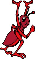 Me? Write verse? Are you serierse? I can't. I'm an ant!
