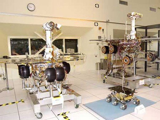NASA - Mars rovers Spirit & Opportunity.