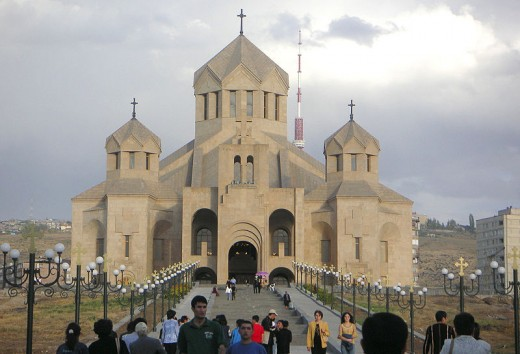 Many Cathedrals were constructed in Armenia