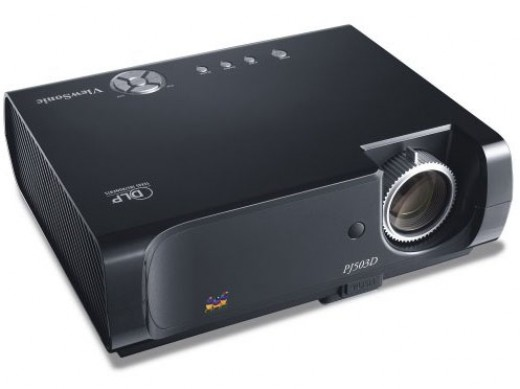 The ViewSonic PJ503D projector