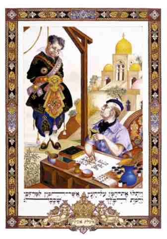 Haman Was An Advisor To The Persian King Who Plotted To Get Rid Of All The Jews In Persia