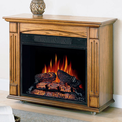 Amish Style Electric Fireplace