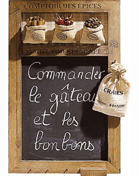 French Country Style Blackboard