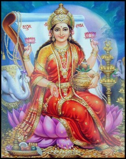 Lakshmi, Goddess of Money