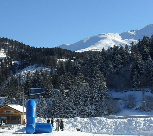 Skiing in France at Le Lioran: Le Massif Cantalien