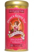 Zhena's Gypsy Tea: Red Lavender with Rooibos is the perfect natural cure for insomnia!