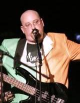 Stu (upright bass, bass vocals)     Answers to: Assbag