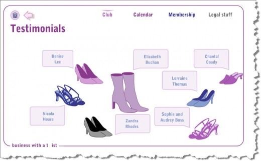 An example of a full flash web site. www.sistersnog.com