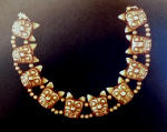 Pre-Columbian gold necklace from Guatemala