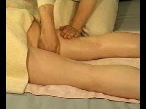 Sensual thigh massage pic