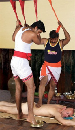 Vigorous Kerala Massage