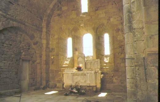 Alter in church