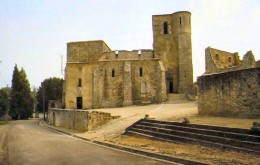 The church ruins
