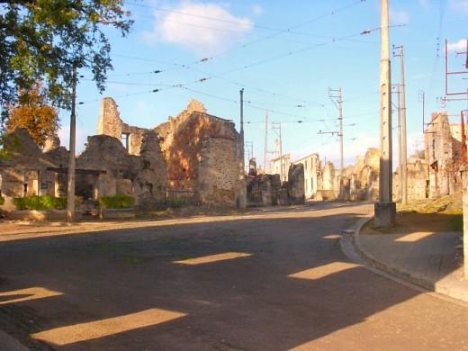 Oradour street looking north