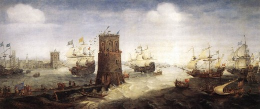 CAPTURE OF DAMIETTA IN THE FIFTH CRUSADE