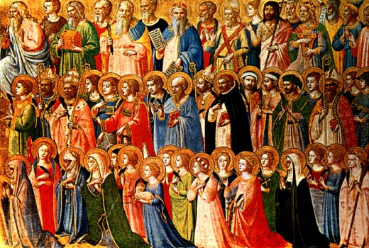 """ALL SAINTS DAY"" PAINTED BY FRA ANGELICO IN 1430"