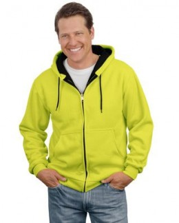 Does this look like you on a Saturday?  A nice casual full-zip sweatshirt with a hood makes those projects in the yard a lot more enjoyable.