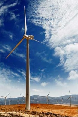 Wind Generator at Wind Farm