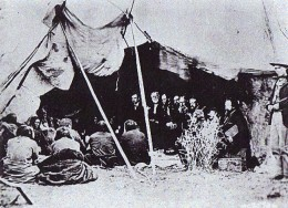 Signing of the Treaty of Fort Laramie