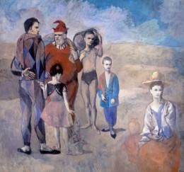 La Famille de Saltimbanques (1905)