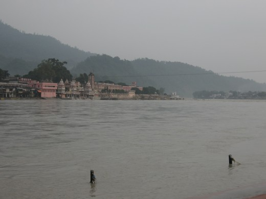 The Ganges is considered one of the holy rivers in India.