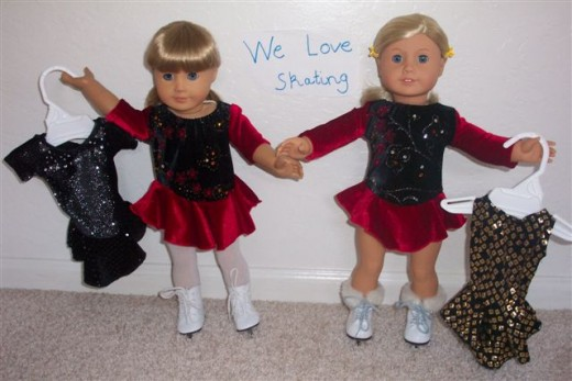 we love skating dolls