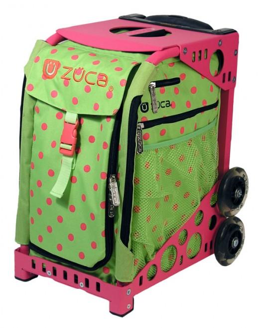 Skate bags - Zuca bags http://www.kinziescloset.com
