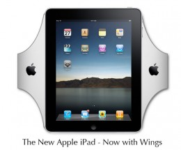 Stay fully protected now that the new improved iPad comes with wings.